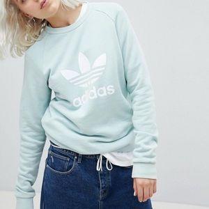Mint green adidas sweatshirt 💫